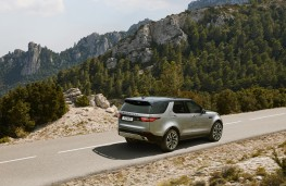 Land Rover Discovery Landmark Edition, 2020, rear