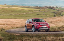 Land Rover Discovery Sport, 2019, front, action