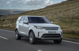 Land Rover Discovery, 2017, front