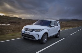 Land Rover Discovery, 2017, front, action