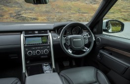 Land Rover Discovery, 2017, interior