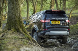 Land Rover Discovery, 2017, off road, rear