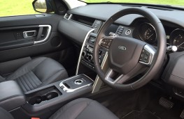 Land Rover Discovery Sport automatic, interior