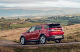 Land Rover Discovery Sport, 2019, rear