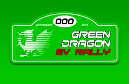 Green Dragon EV Rally, logo, 2019