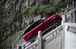 Range Rover Sport P400e, Heaven's Gate climb, side