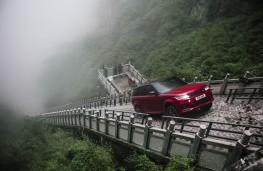 Range Rover Sport P400e, Heaven's Gate climb