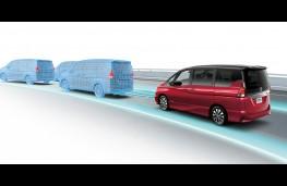 Nissan Serena, autonomous driving technology, graphic