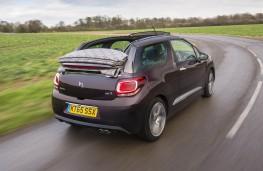 DS 3, cabrio rear action
