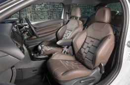 DS 3, front seats leather