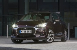 DS 3, front static lights