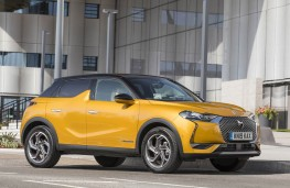 DS 3 Crossback, front static