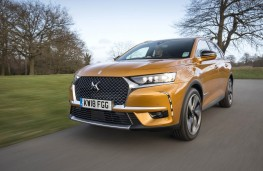DS 7 Crossback, front action