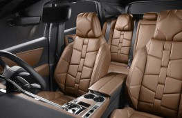 DS 7 Crossback Brown Nappa upholstery