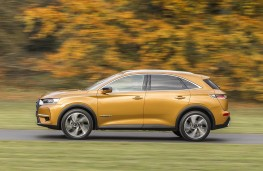 DS 7 Crossback side action