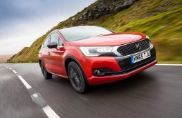DS 4 Crossback, front action