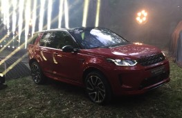 Land Rover Discovery Sport, 2019, reveal, front