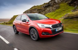 DS 4 Crossback, front, action