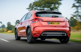 DS 4 Crossback, rear, action