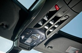 Citroen DS5, overhead console