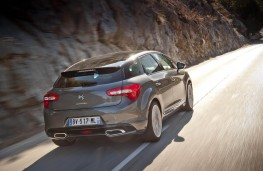 Citroen DS5, rear, action