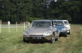 Citroen Collectors' Gathering, 2019, DS drive
