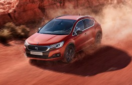 DS 4 Crossback Terre Rouge, 2016, action