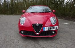 Alfa Romeo Mito, front