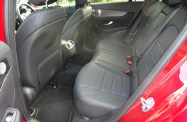 Mercedes Benz GLC, interior rear