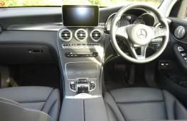 Mercedes Benz GLC, dashboard
