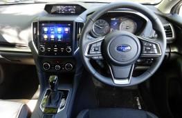 Subaru Impreza, dashboard