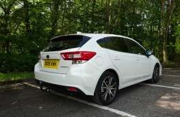 Subaru Impreza, rear
