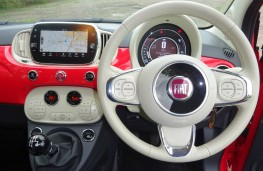 Fiat 500C, dashboard