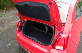 Fiat 500C, boot