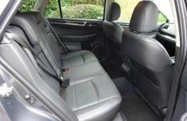 Subaru Outback, interior, rear
