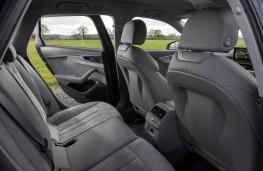 Audi A4 Avant, rear seats