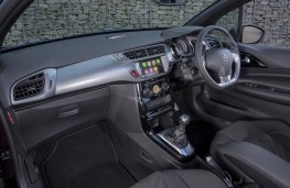 DS 3 Cabrio, 2016, dashboard