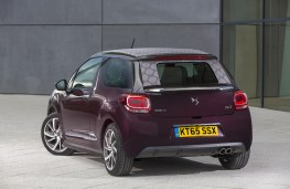 DS 3 Cabrio, 2016, rear, static