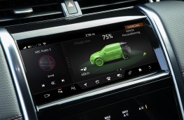 Land Rover Discovery Sport PHEV, 2020, display screen