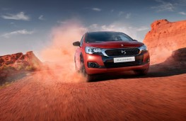 DS 4 Crossback Terre Rouge, 2016, front, action
