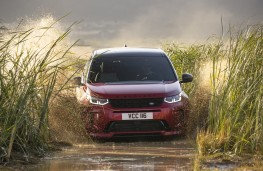 Land Rover Discovery Sport, 2019, off road, front