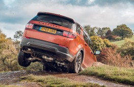 Land Rover Discovery Sport, 2019, rear, off road