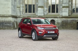Land Rover Discovery Sport, front, static