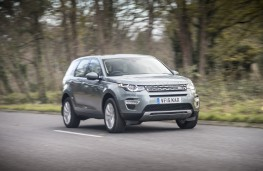 Land Rover Discovery Sport HSE TD4 e-Capability, front