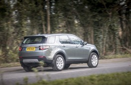 Land Rover Discovery Sport HSE TD4 e-Capability, rear