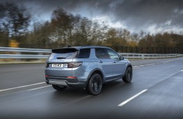 Land Rover Discovery Sport PHEV, 2020, rear