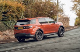 Land Rover Discovery Sport, 2019, side