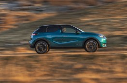 DS 3 Crossback, 2019, side, action