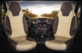 Fiat Ducato motorhome, interior