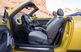 Volkswagen Beetle Dune Cabriolet, interior